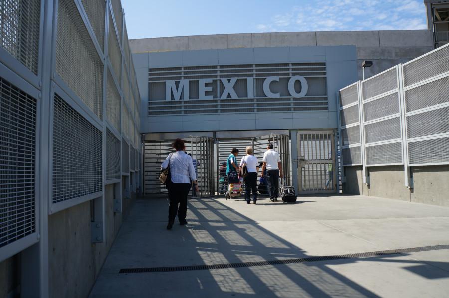 вход в Мексику