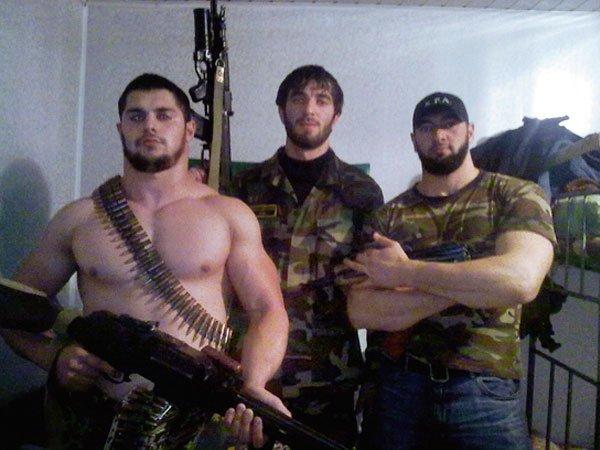Охранники Кадырова