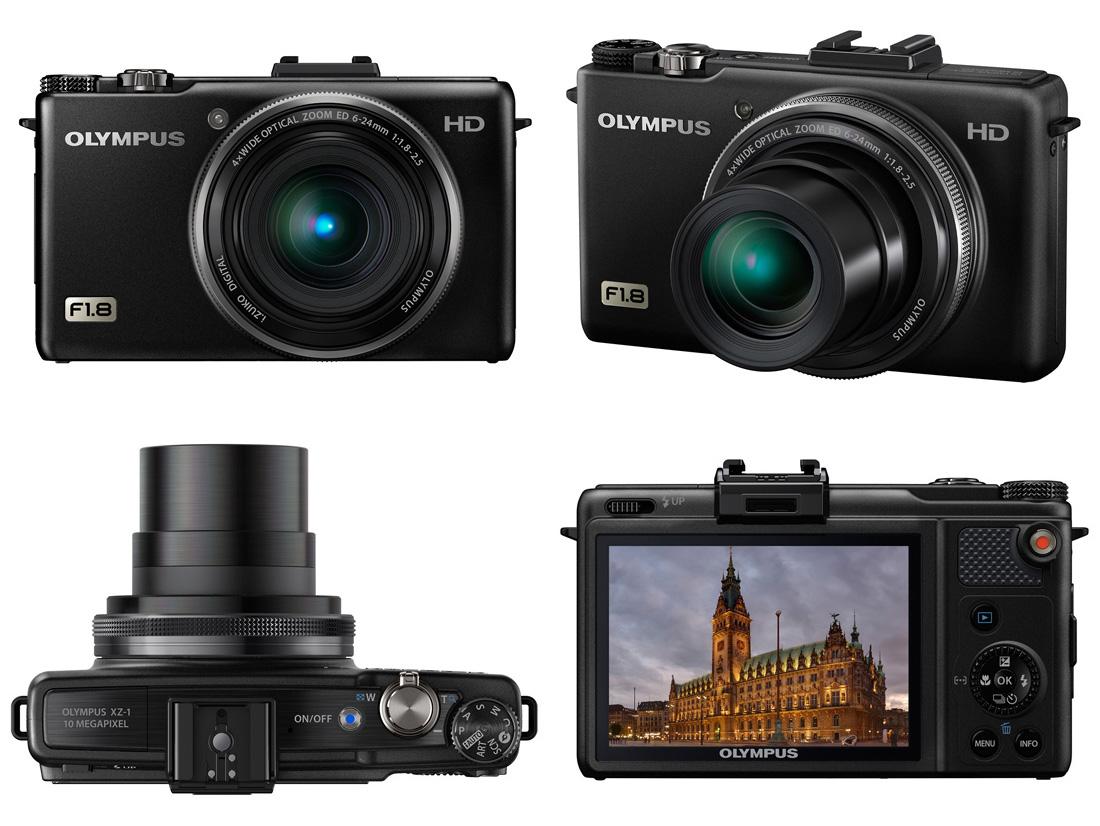 Leather case bag for olympus xz 2 xz2 also fit xz1 xz 1 digital camera