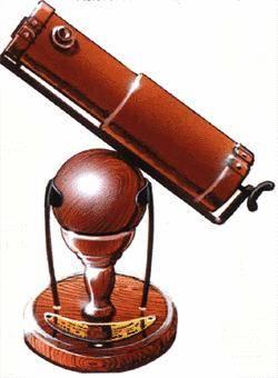 Рис. 5.5 Первый телескоп схемы Ньютона