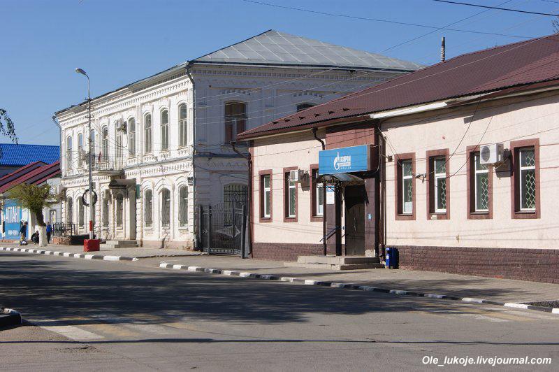 Застройка проспекта Ленина - центральной оси.