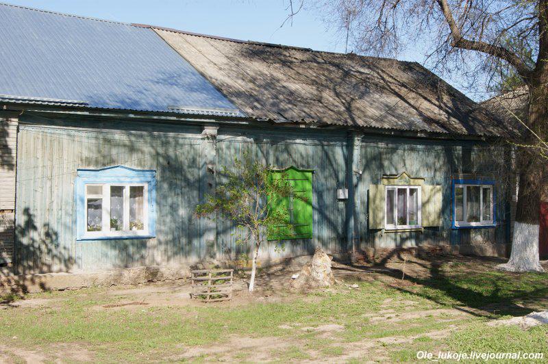И в этих домах вполне могли жить немцы, хотя Маркс к концу 19 века стал городом многонациональным.