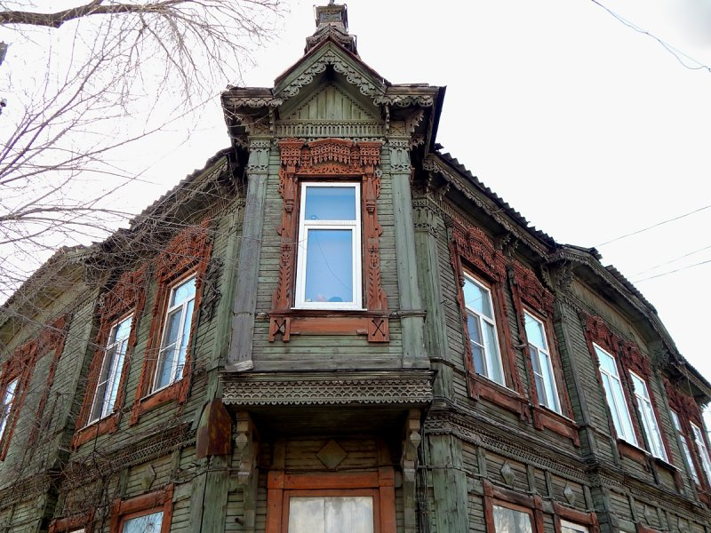 Строил его известный архитектор А. Щербачев в 1899 -1901 гг.