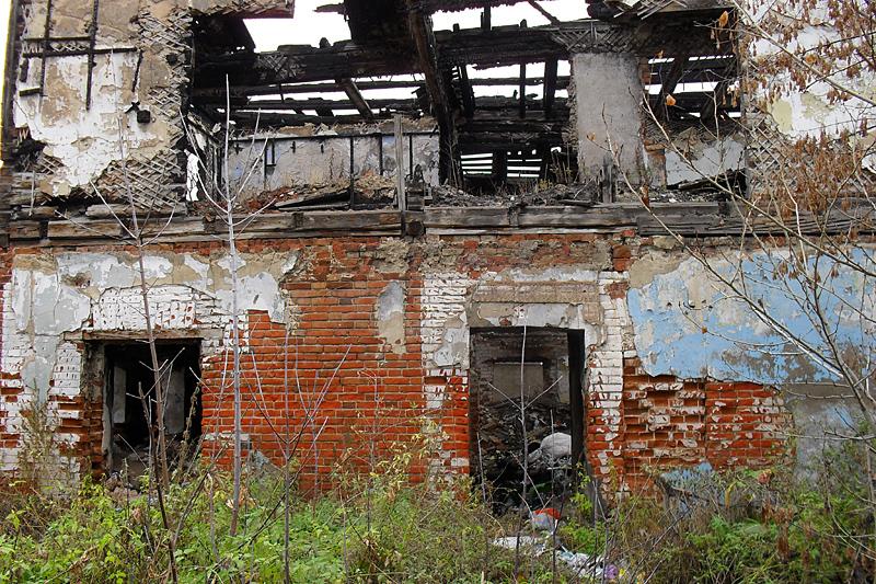 Руинированная заброшка
