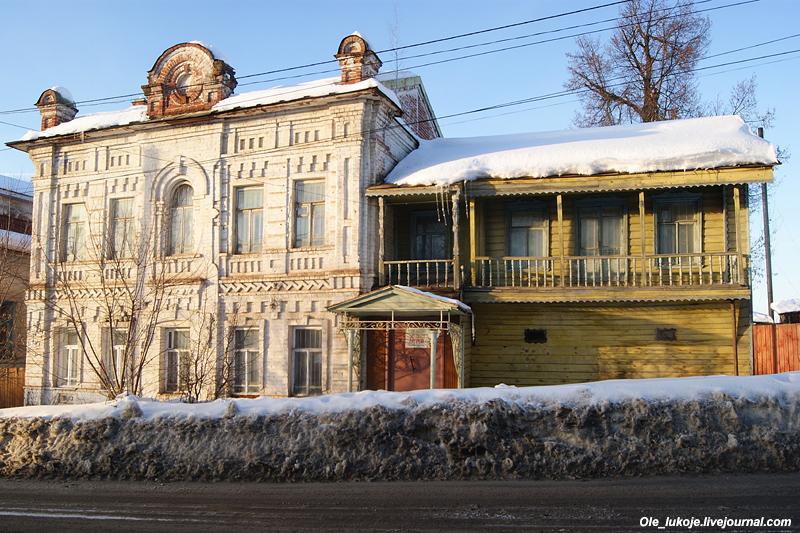 Дом с лавкой купца Соколова, ныне музей.