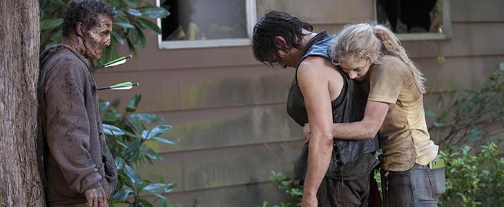 Дэрил и Бет the-walking-dead  4season12seria