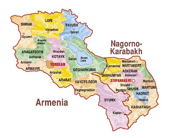 знакомство армения нагорный карабах