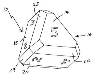 5-гранный кубик дайс