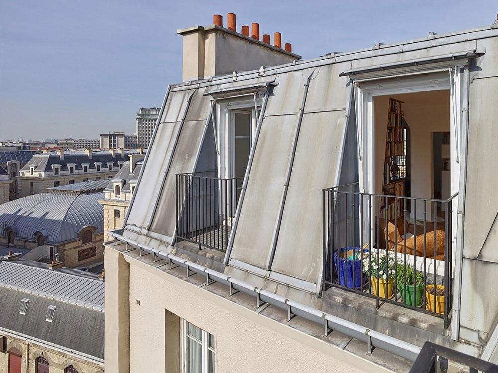 фото парижских мансард ещё раз