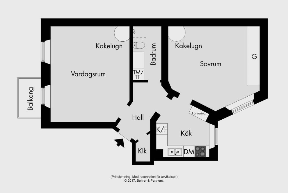 Квартира в Швеции фотографии