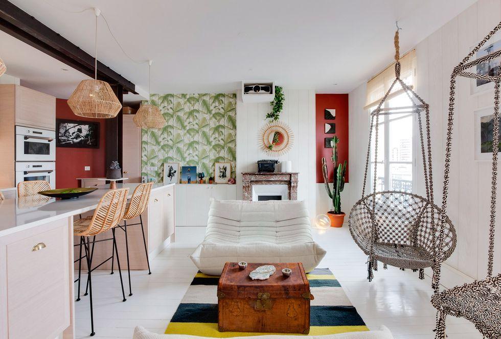 Квартира в Париже - 43 кв. м. фотографии