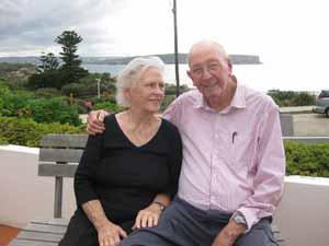 Дон Ритчи со своей женой