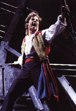 Enjolras mounted the barricade passionately, solving the question which had been haunting Les Miz readers since 1862: Enjolras -- top or bottom?