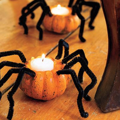spider-pumpkin-tea-lights