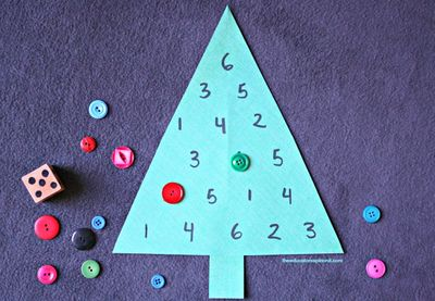 Christmas Tree Counting Game