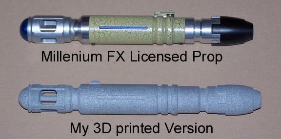 3d print Sonic screwdriver