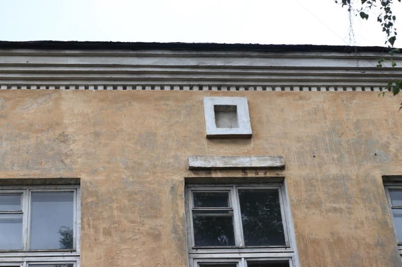 Фрагмент здания Петрозаводского пивзавода