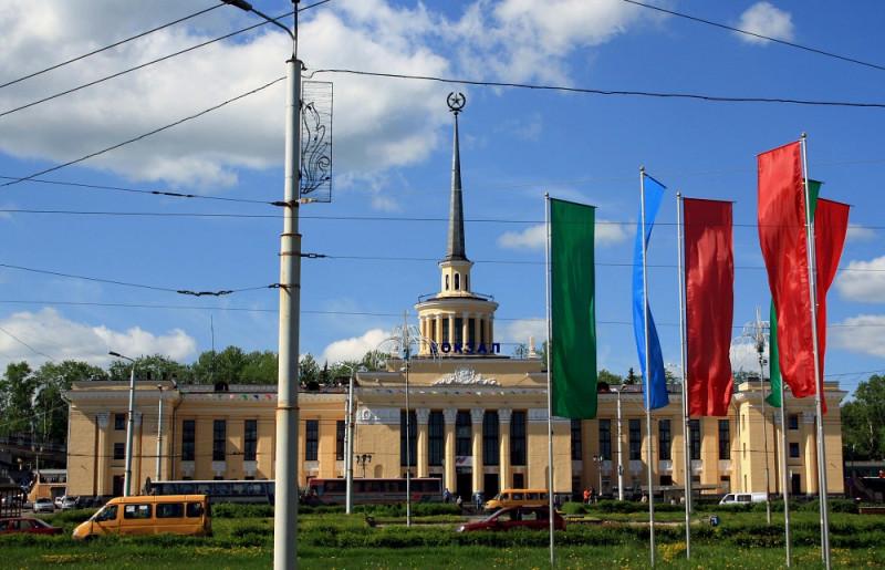 Железнодорожный вокзал Петрозаводска
