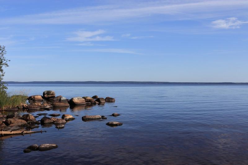 Онежское озеро. Фото Алексея Вострякова