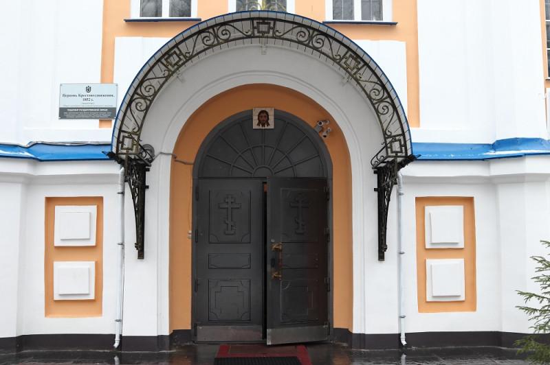 Дверь в храм всегда открыта