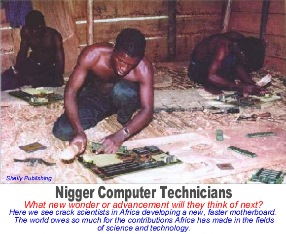 Nigger Motherboard Scientists