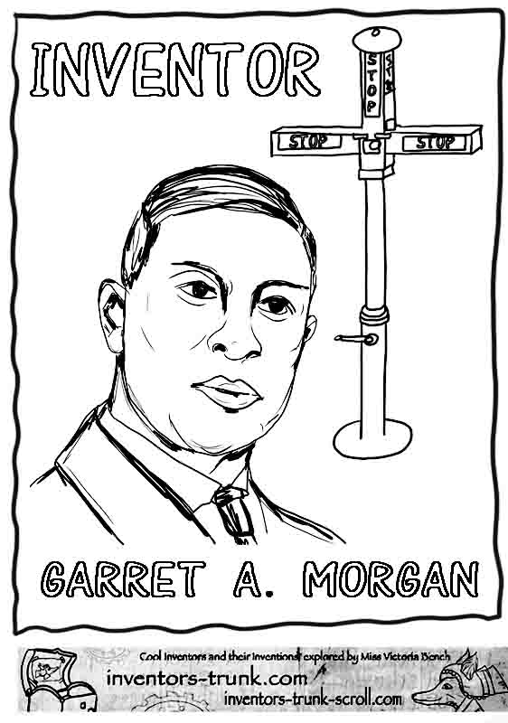 garret-morgan-coloring-pages-inventor-traffic-signal-3