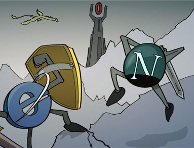 ie-vs-netscape