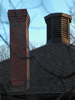 chimney and lantern