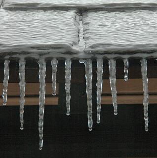ice on slate