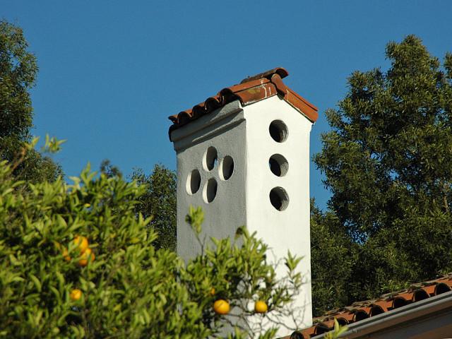 chimney as dovecote