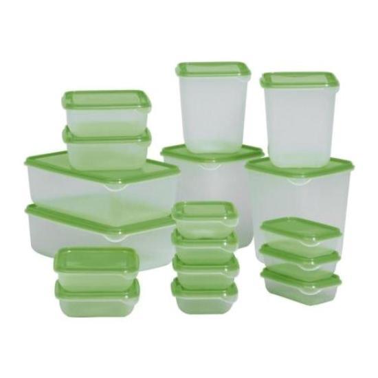пластиковые контейнеры.