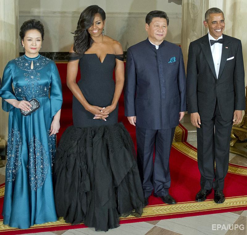 Мишель обама платье из