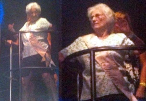 бабушка танцы