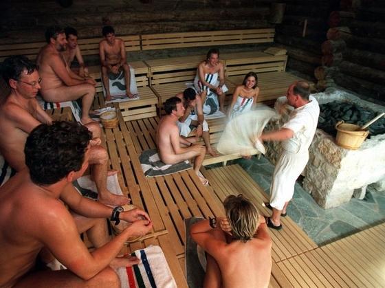 голые в городских банях фото