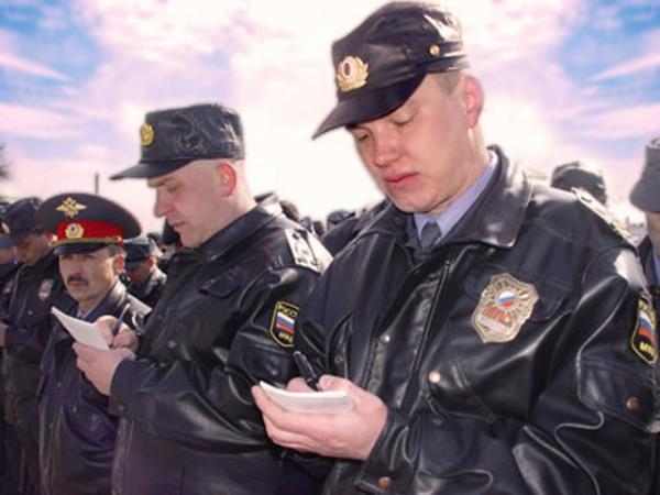 Полицейский.