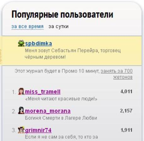 Популярные