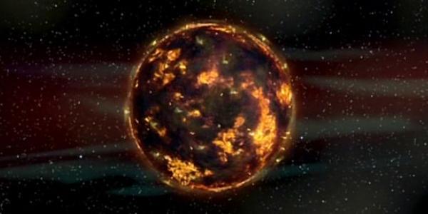 """Объект в космосе из """"Пятого элемента"""""""
