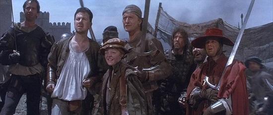 Отряд наёмников из фильма Плоть и Кровь