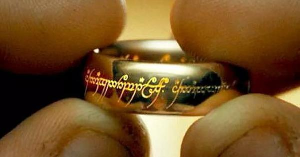 Кольцо Саурона.