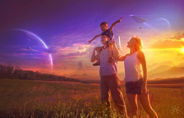 Семья будущего.