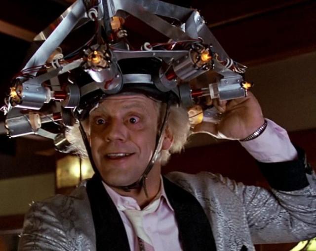 Доктор Браун из Назад в будущее