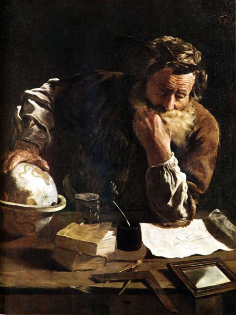 Доменико Фетти, Задумавшийся Архимед