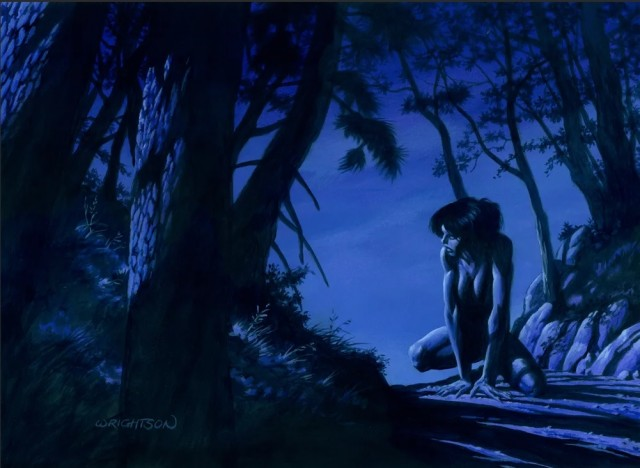 Миа в лесу