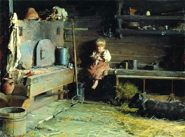 Горохов, В избе, 1895