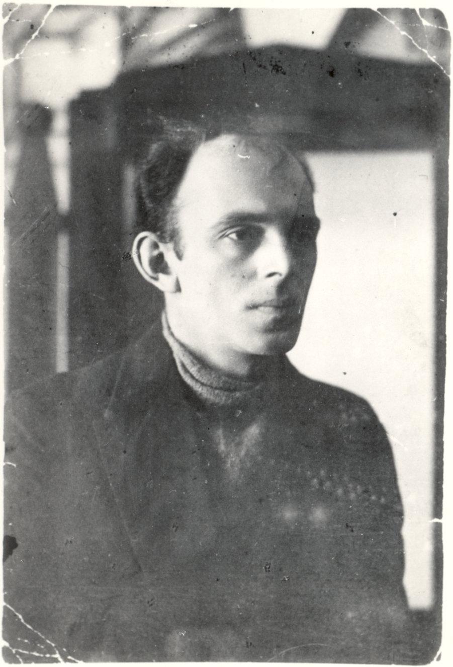 Мандельштам в 1923 году: фотография из журнала Огонёк