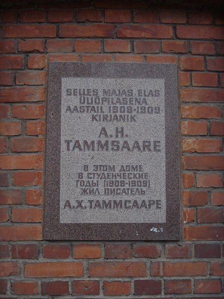 450px-Anton_Hansen_Tammsaare_plaque_in_Tartu