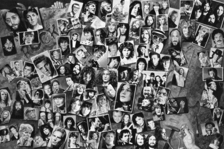history-of-rock-roll-collage-music-poster-print