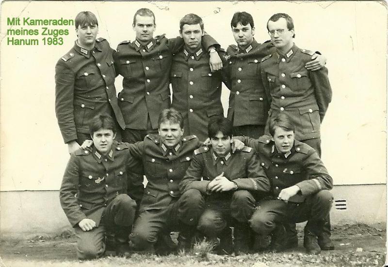 ГДР Национальная народная армия прбшл