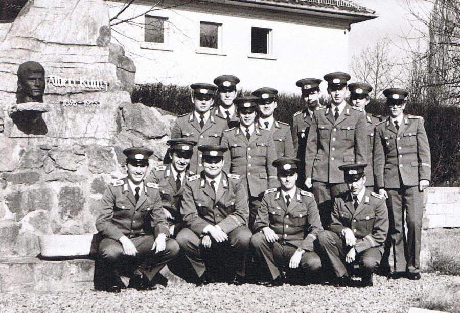 ГДР Национальная народная армия прффймв