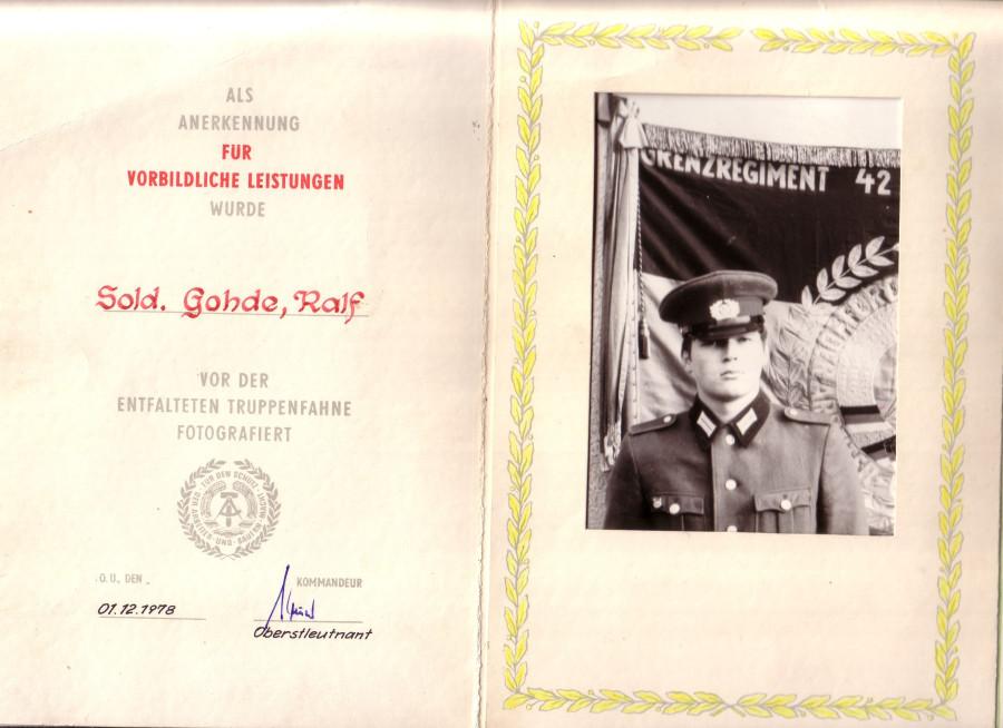 ГДР Национальная народная армия пр00-р